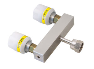 Twin Adaptor + NIST Probe + Nut 100mm Straight Bar